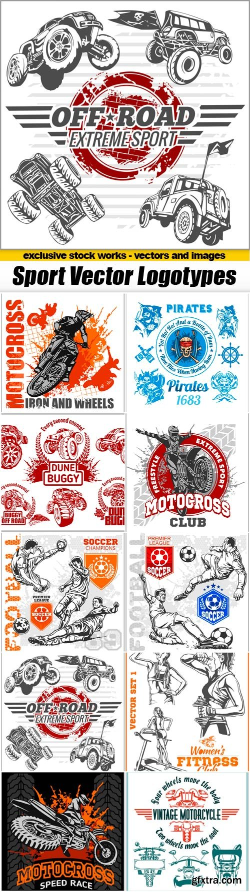 Sport Vector Logotypes - 10 EPS