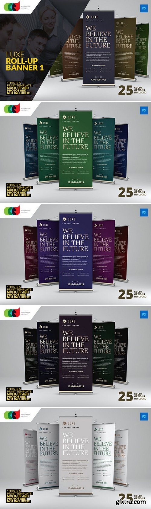 CM - Luxe - Roll-Up Banner 1 331818