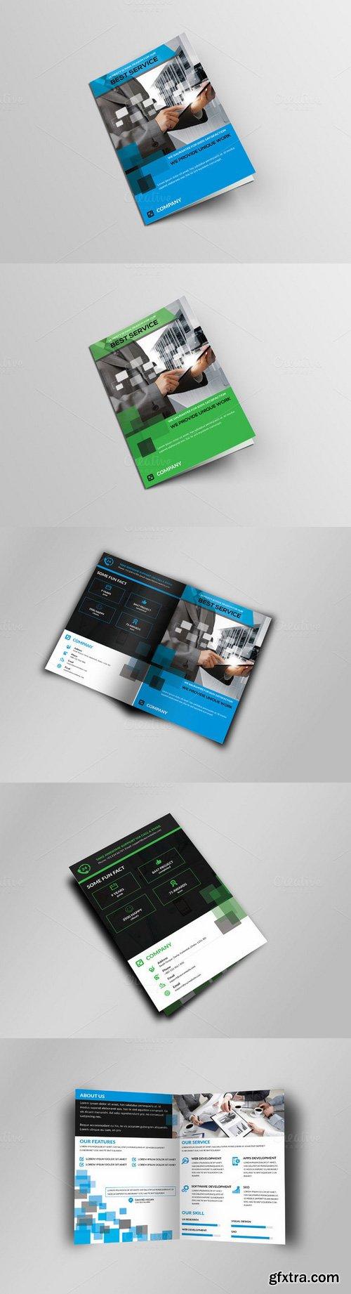 CM - Corporate Business Bi-Fold Brochure 329217
