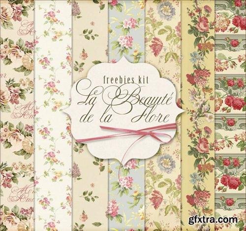 Paper Background Textures - La Beaute De La Flore