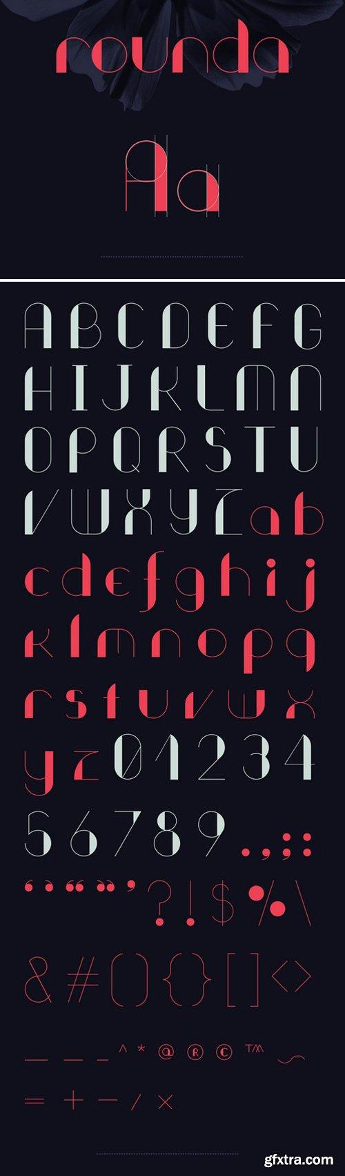 ROUNDA Font