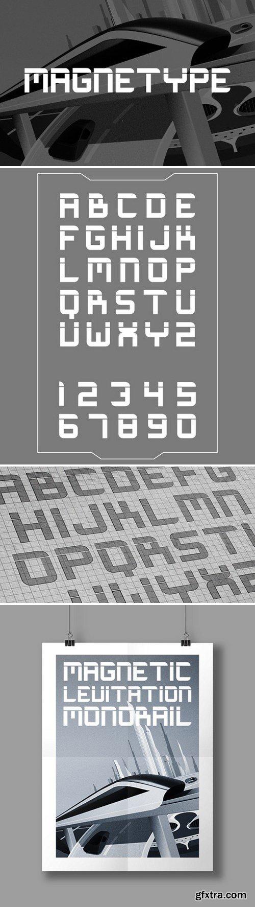 Magnetype - Font