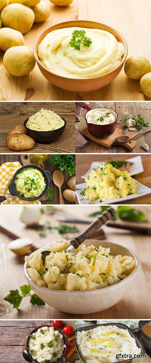 Stock Images Mashed potato