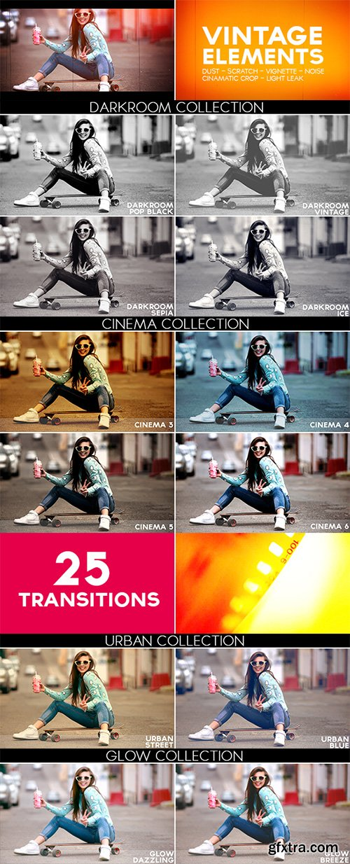 Videohive Color Pack with Light Leaks 12251466