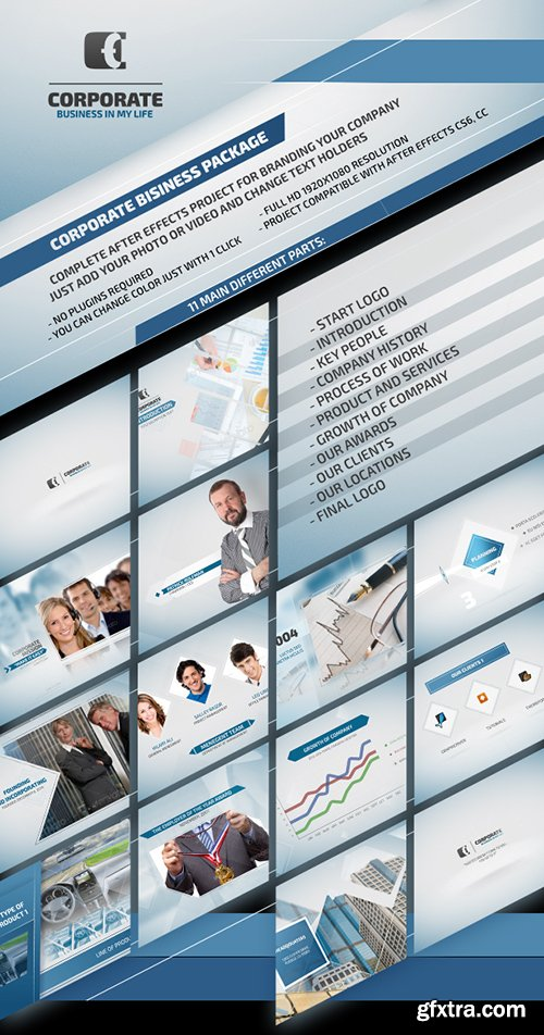 Videohive Corporate Business Package 8417570