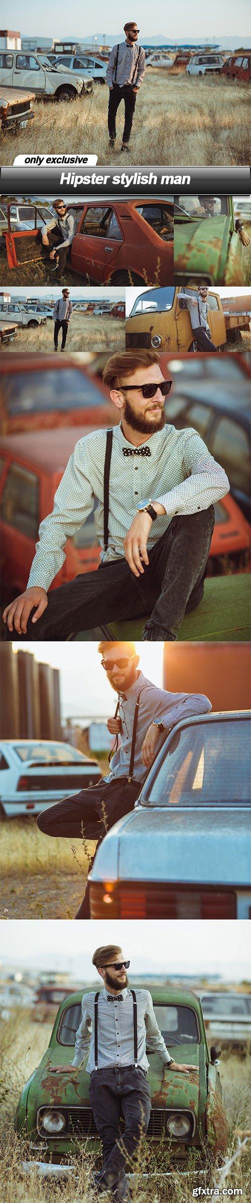 Hipster stylish man - 7 UHQ JPEG