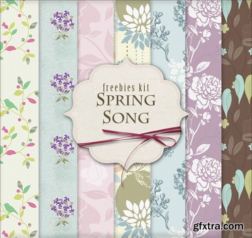 Background Textures - Spring Song
