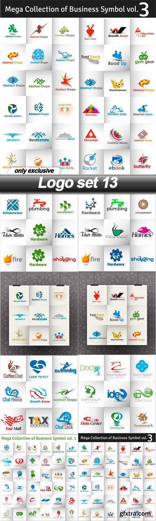 Logo set 13 - 8 EPS
