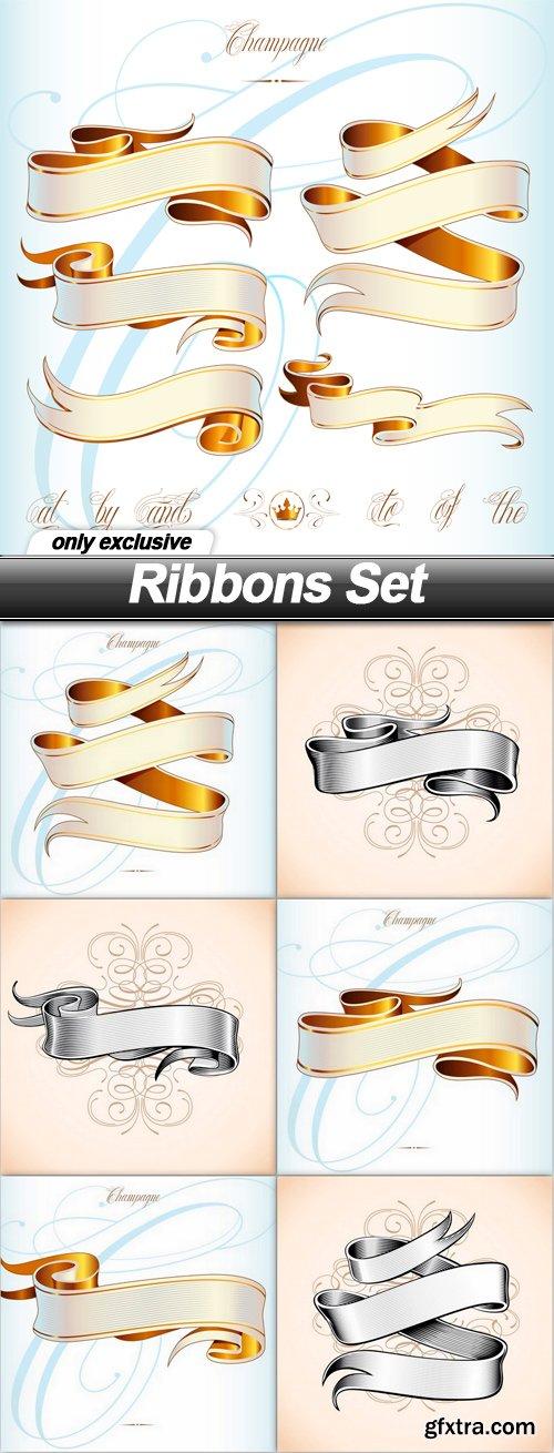 Ribbons Set - 7 EPS