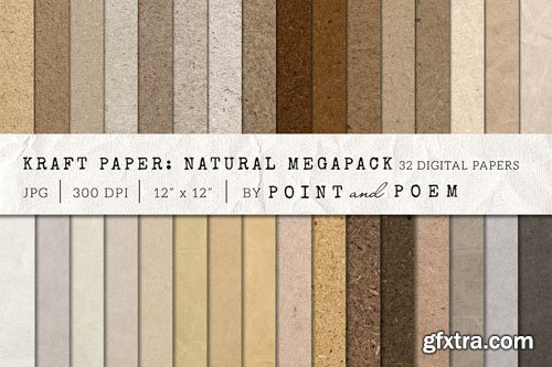 Kraft Paper Texture Pack - Neutral - CM 156971