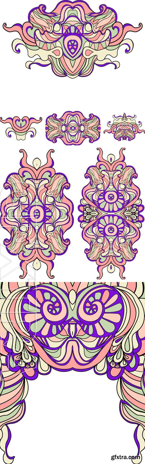 Stock Vectors - Abstract ethnic Doodle, vector illustration