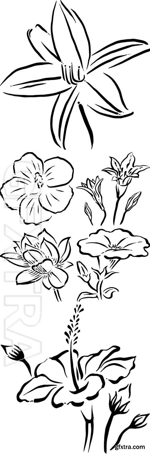 Stock Vectors - Flower vector illustration