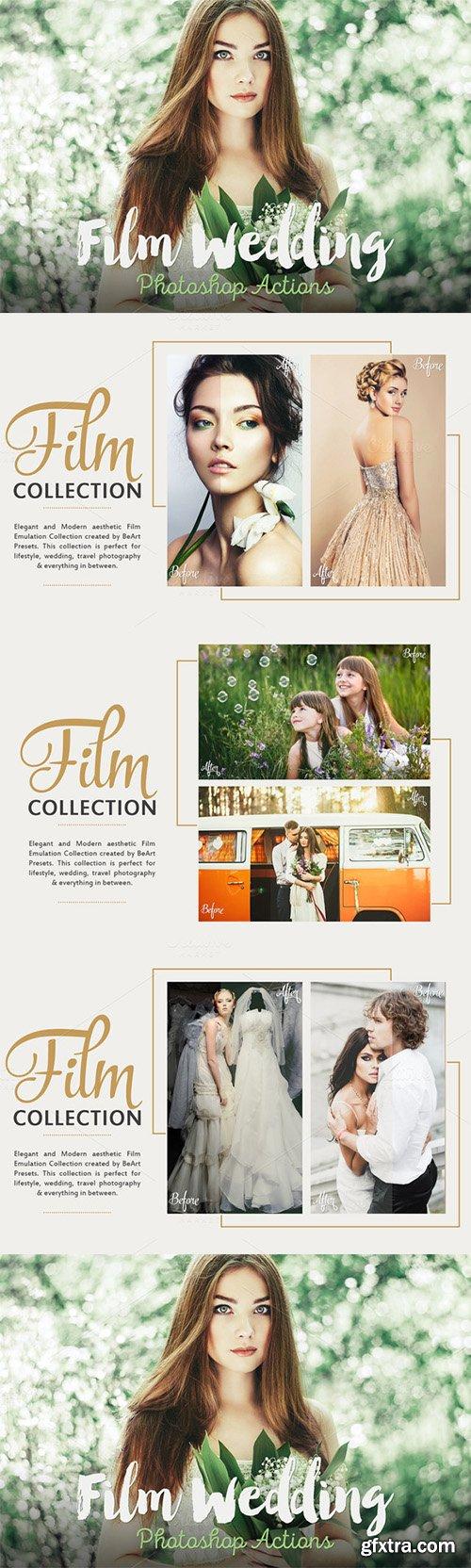 CM Film Wedding Photoshop Actions 333276