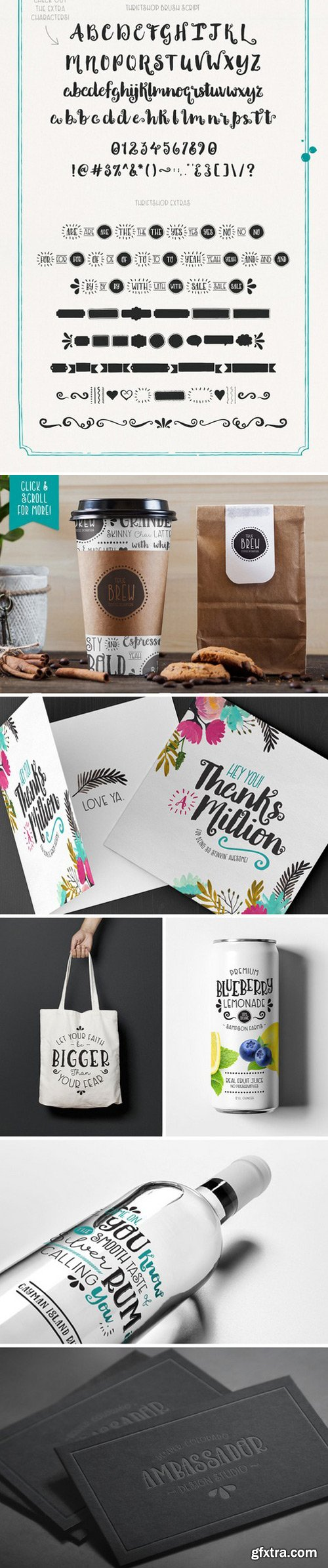 CM - Thriftshop Hand Lettering Collection 329607