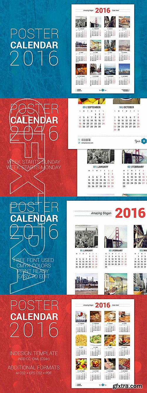 CM - Poster Calendar 2016 334061