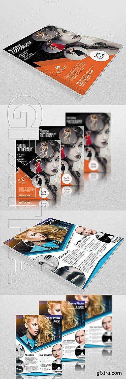 CM - Photography flyer bundle - 6 flyer 334340