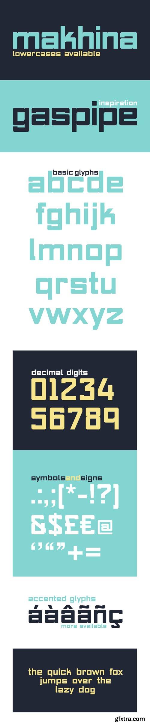 MAKHINA Font