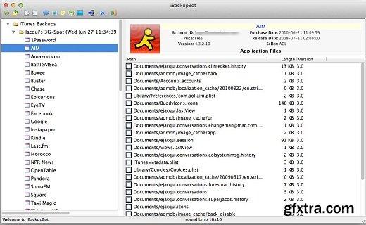 iBackupBot 5.3.1 MacOSX