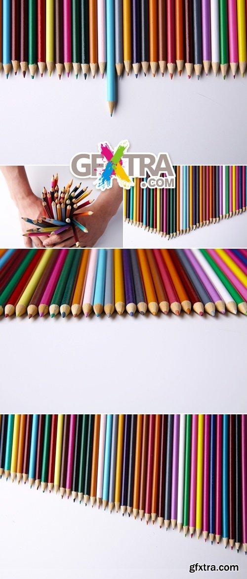 Stock Photo - Color Pencils