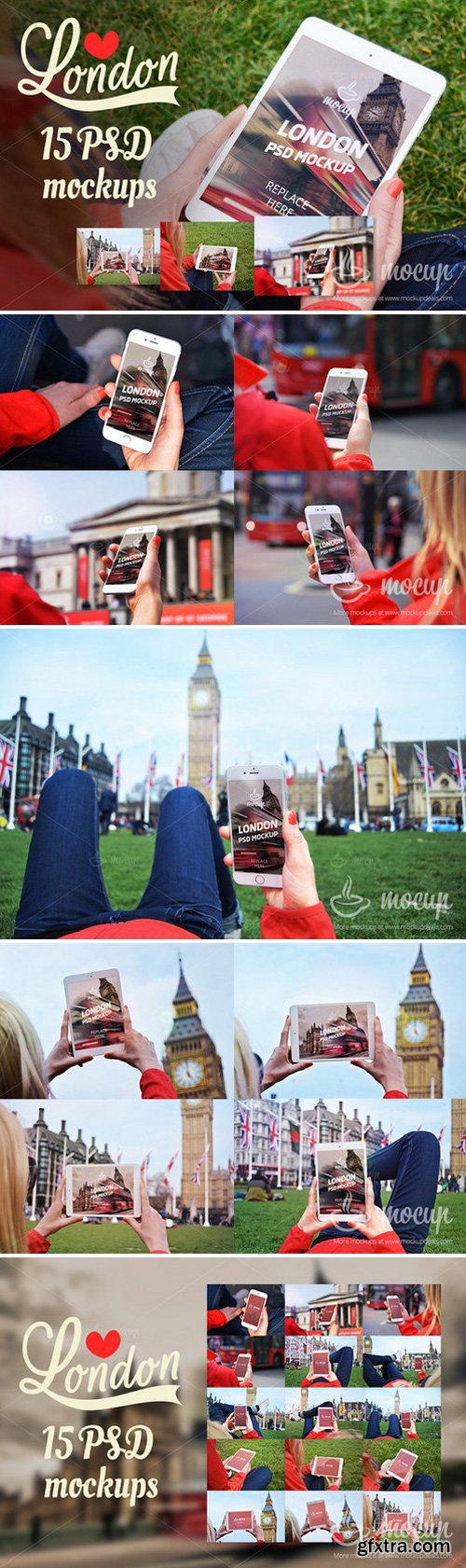 CM - 15 PSD Mockups in London 262183