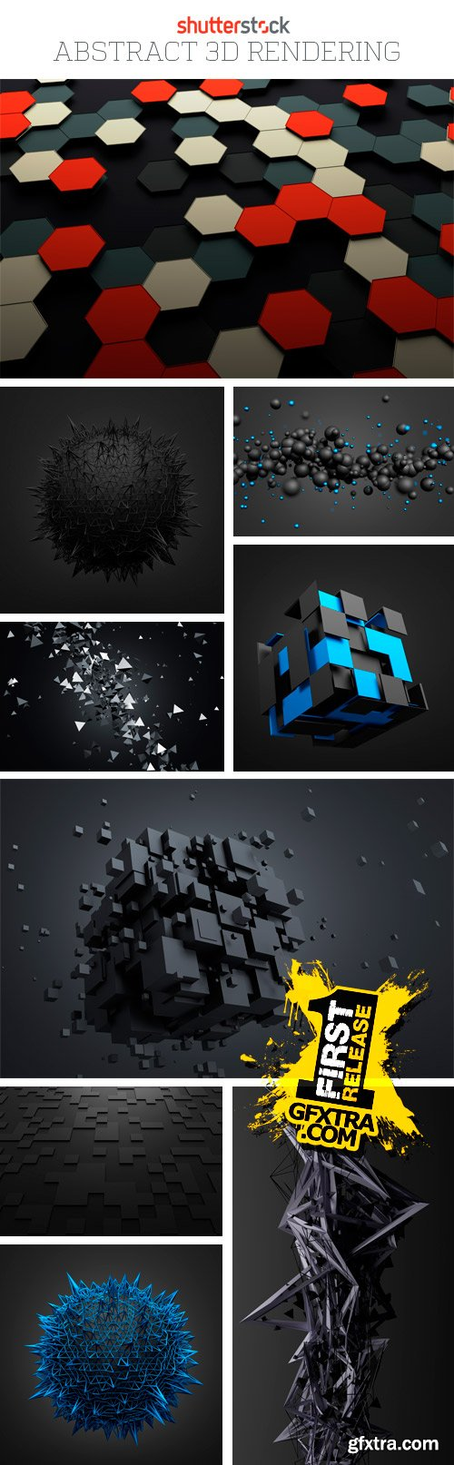 Amazing SS - Abstract 3D Rendering, 25xJPGs