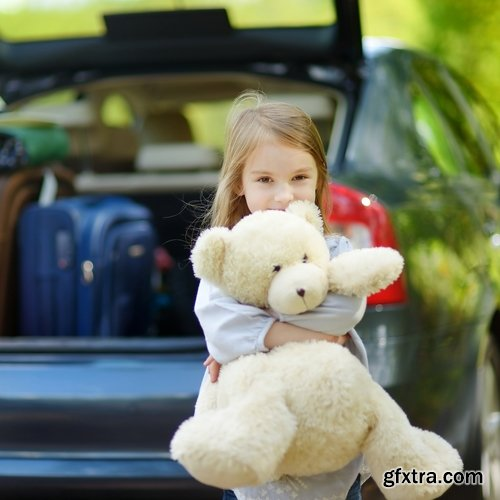 Collection of different children on nature in baby car shop 25 HQ Jpeg
