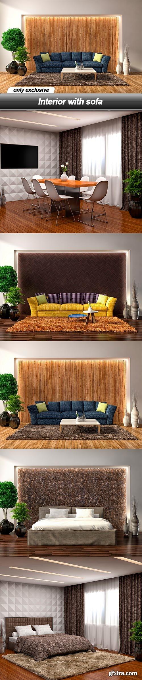 Interior with sofa - 5 UHQ JPEG