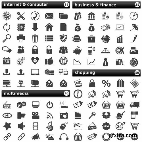 Pack Icons - 15 EPS
