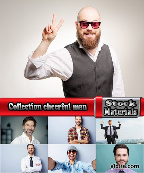 Collection cheerful man laugh smile fun funny man joy 25 HQ Jpeg