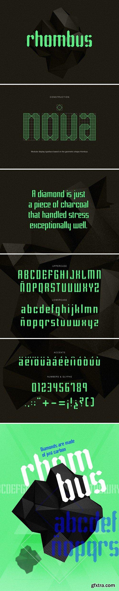 Rhombus Typeface