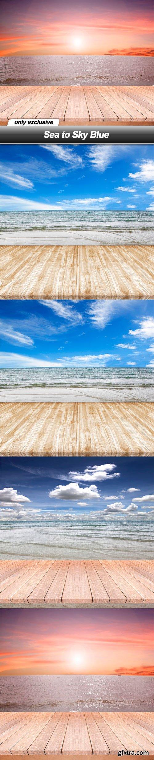 Sea to Sky Blue - 4 UHQ JPEG
