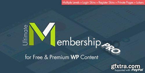 CodeCanyon - Ultimate Membership Pro WordPress Plugin v1.0 - 12159253