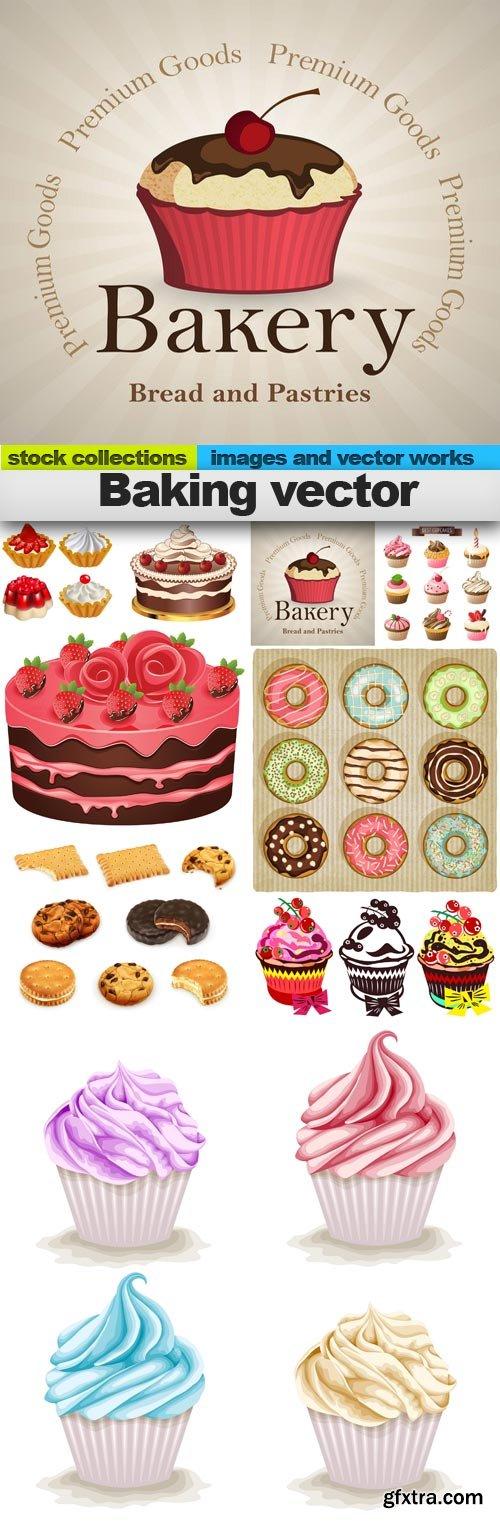 Baking vector, 10 x EPS
