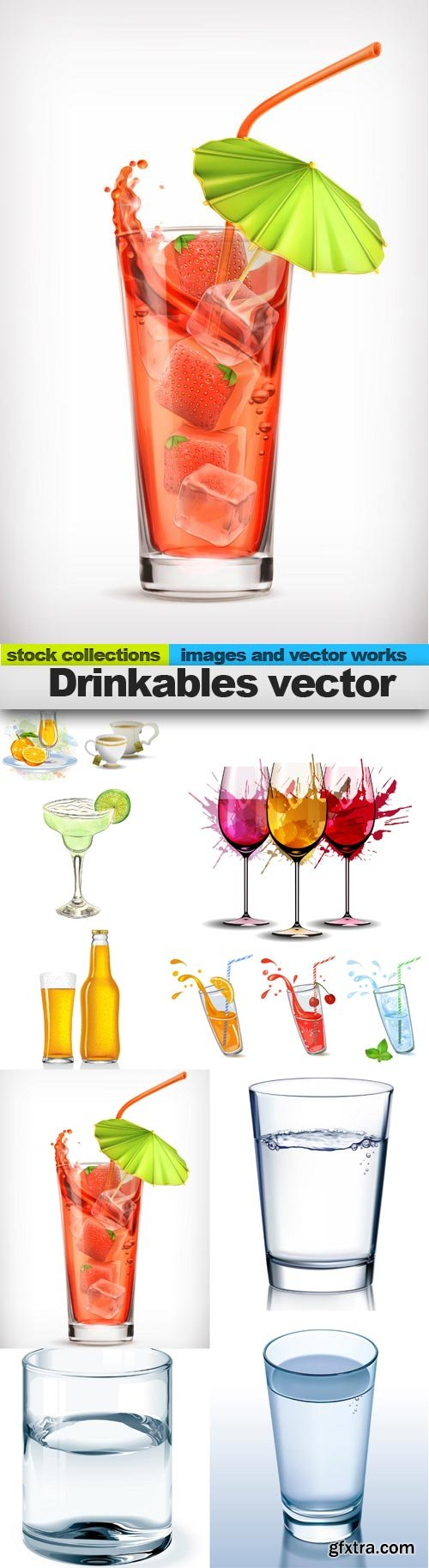 Drinkables vector, 10 x EPS