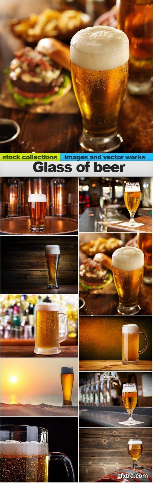 Glass of beer, 10 x UHQ JPEG