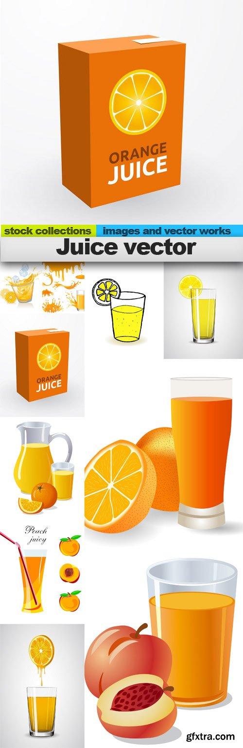 Juice vector, 10 x EPS