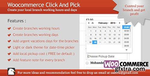 CodeCanyon - Woocommerce - Click And Pick ( Local Pickup ) v1.2 - 10530941