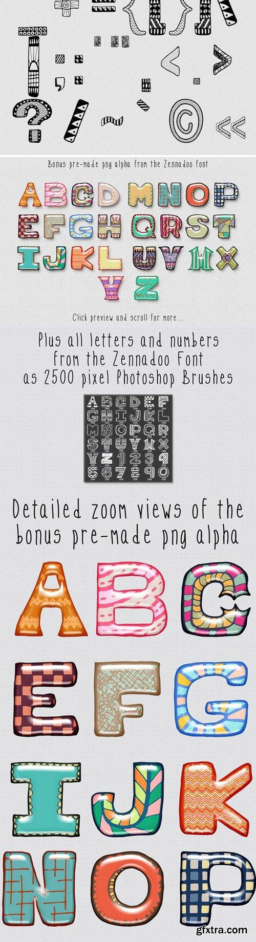 CM - Zennadoo Font 335649