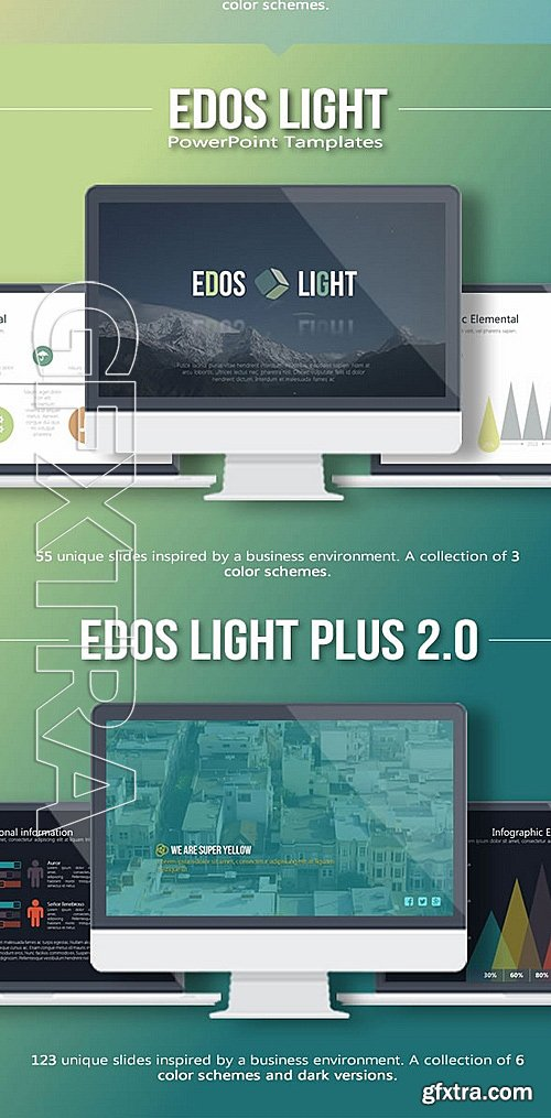 GraphicRiver - 4 in 1 Bundle PowerPoint 12390940