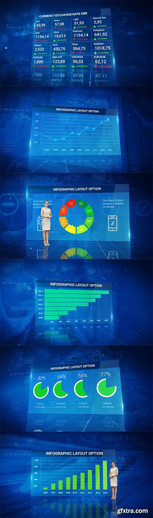 Videohive News Infographics Pack 12156260