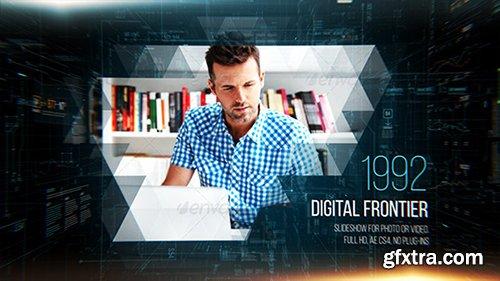 Videohive Digital Frontier Slideshow 11987540