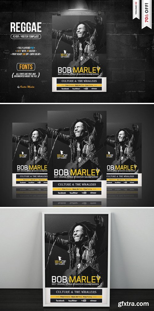 CM - Reggae - Flyer 02 312705