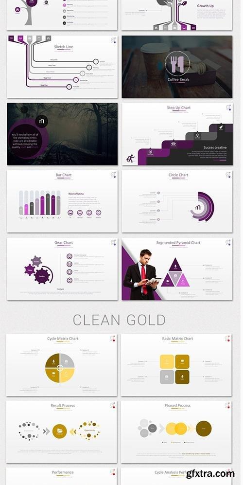 GraphicRiver Minio PowerPoint Presentation Template 9509077