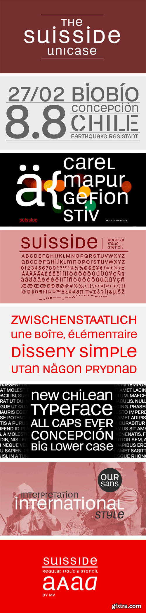 Suisside Font Family