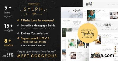 ThemeForest - Sylph v1.0 - A Multi-Path WordPress Blog Theme - 11891587