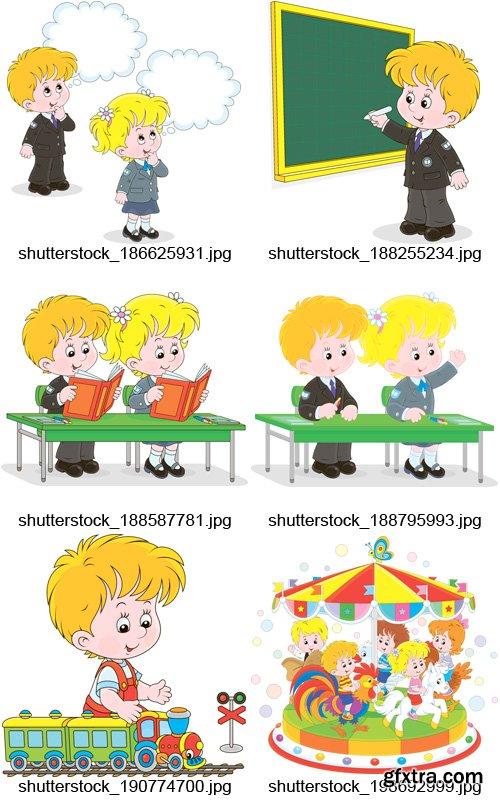 Amazing SS - School Children, 25xEPS