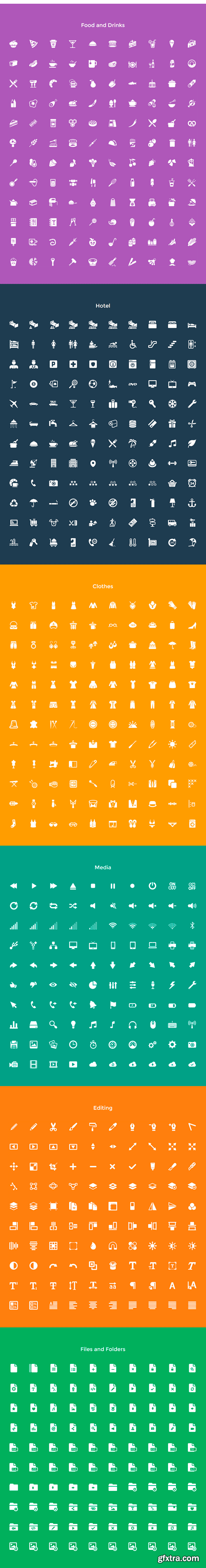 CM 289104 - Squid Ink Solid Icon Pack