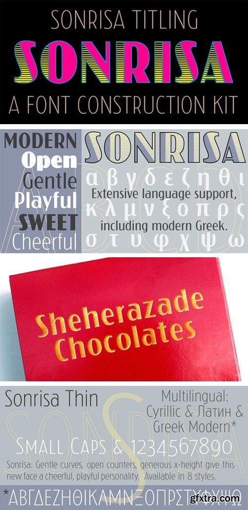 Sonrisa Font Family