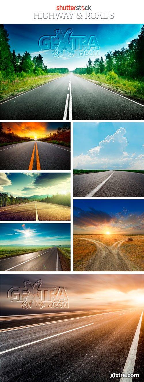 Amazing SS - Highway & Roads, 25xJPGs