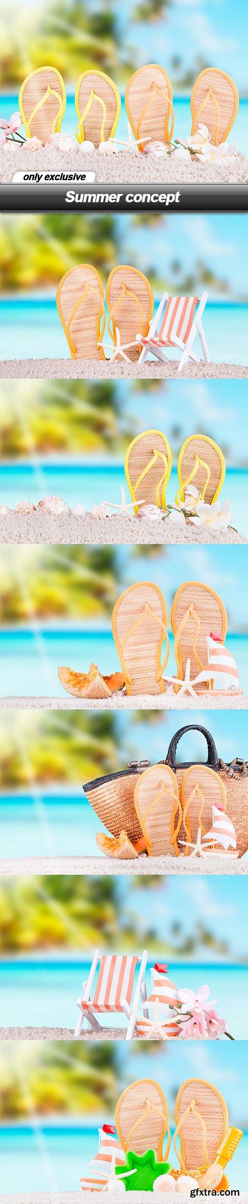 Summer concept - 8 UHQ JPEG